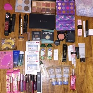 80 Pc High End Makeup Lot NEW